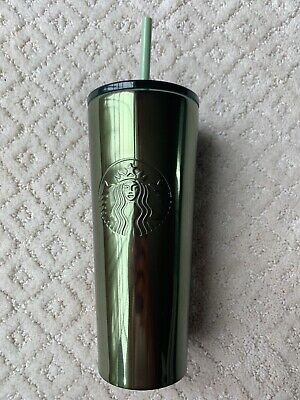 NEW Starbucks Stainless Steel New Fall 2019 Witchy Green Halloween 16oz Tumbler