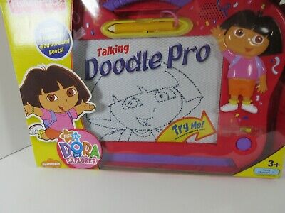 New Fisher Price Dora The Explorer Talking Doodle Pro - NIB