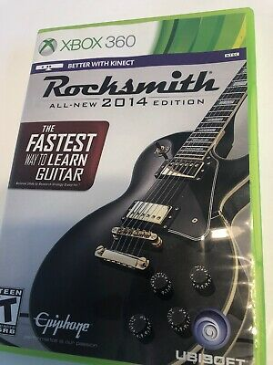 Rocksmith 2014 Edition (Xbox  360) Game Only, Comes With Disc And Case. TESTED
