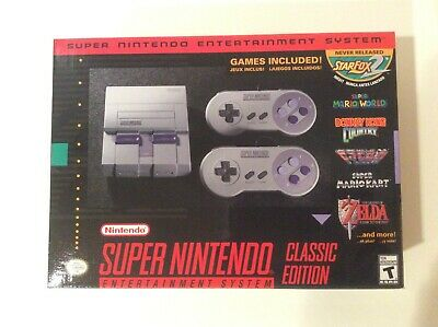 Nintendo SNES Classic Edition Mini Super Entertainment System BRAND NEW / SEALED