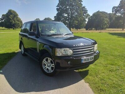 2006 RANGE ROVER VOGUE 3.0 TD6 automatic DIESEL fully loaded