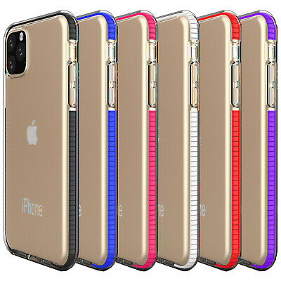 DD For iPhone 11 Pro Max Clear Case Ultra Slim Silicone Bumper Shockproof Cover