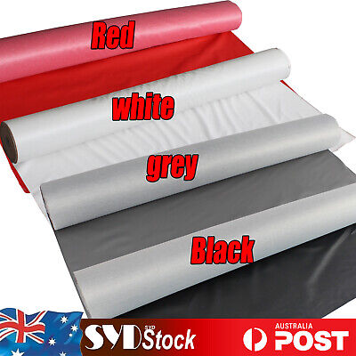 Lychee Artificial Leather Fabric DIY Furniture Crafts Restore Red White Grey BLK