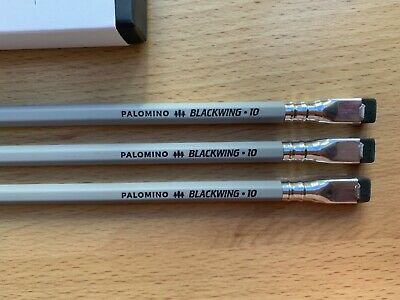 3 Blackwing Volume 10 pencils: Box Not Included