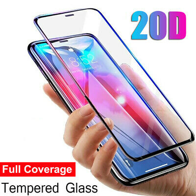20D Curved Full Cover Tempered Glass Screen Protector For iPhone 11 Pro Max Xs