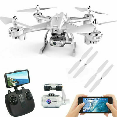 Drone with HD Camera FPV WiFi Live Video 25 M LONG FLIGHT TIME RC Quadcopter US
