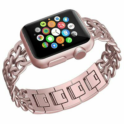 For Apple Watch Series 1/2/3/4 Cowboy Style iWatch Straps Stainless Steel Band