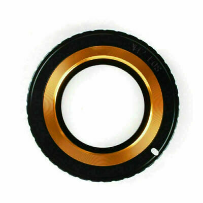 M42 lens to Canon EOS EF Mount Adapter Ring black 5D II III 6D 7D 70D 650D AU*