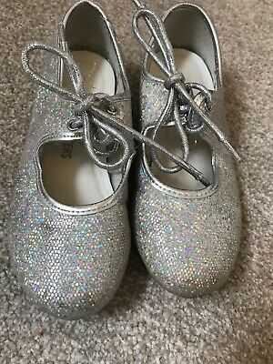 Tappers And Pointers Girls Infant Tap Shoes Size 10