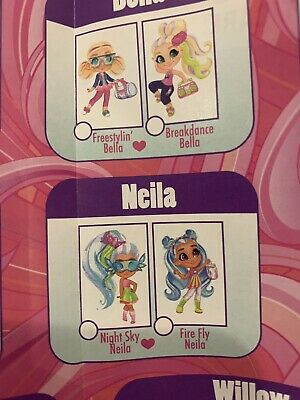 Hairdorables Series 2 Big Hair Firefly Neila Collector Doll 11 Surprises