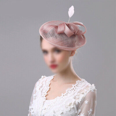 BeNude Pink Headband Hat Fascinator Weddings Ladies Day Race Royal Ascot UK #M2R