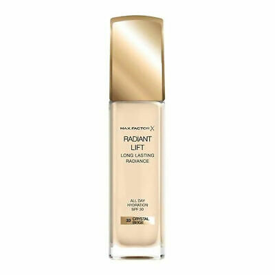 Max Factor Radiant Lift Long Lasting Radiance Foundation SPF30 30ml new