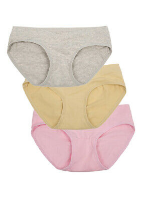 Pregnant Women Low-Rise Cotton Panties Maternity Underwear Briefs 3pcs/5pcs Pack