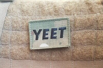 Tactical YEET Multi Cam airsoft Morale Patch