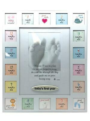 Baby's First Year Multi Image Photo Frame