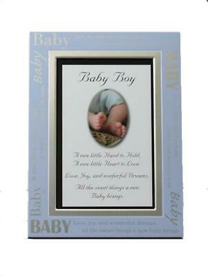 Baby Boy Blue Photo Frame