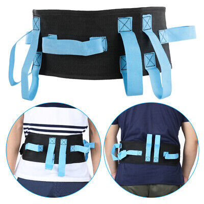 Gait Belt for Transfer & Walking With Hand Grips Release Buckle Lift Aid Safety