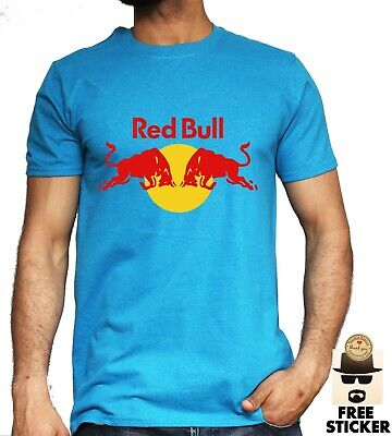 Red Bull Racing T-shirt Formula 1 F1 Fashion Inspired Motorcycle Bike Tee Mens