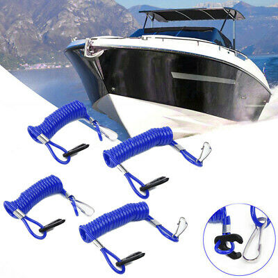 Gear Safety Lanyard Rope Accessories For Evinrude Blue Durable Practical