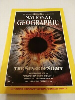 National Geographic Magazine - Vol 182 # 5 November 1992 The Sense Of Sight