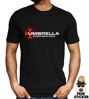 Umbrella Corporation Corp T-shirt Resident Evil Inspired Gaming Gamers Men's Tee