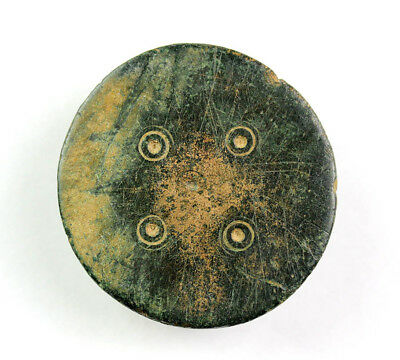 *Sc*Massive Roman Decorated Military Bronze Fitting, 1St.-3Rd. Cent. Bc