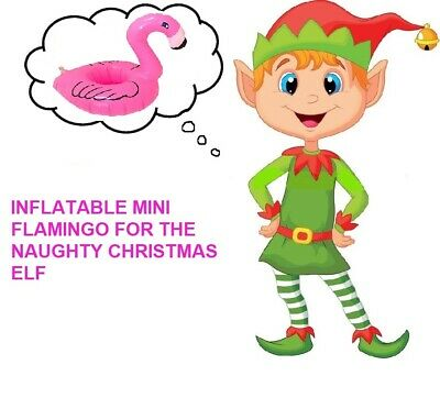 Inflatable Flamingo Ideas accessories props on the Shelf for the CHRISTMAS ELF