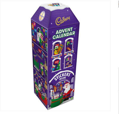 Cadbury 3D Chocolate Advent Calendar 312G Over 40 cm High Free Tracked Delivery