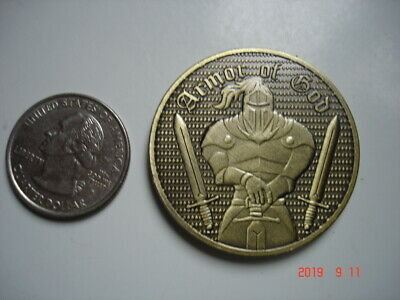 Something Different: Bronze Armor Knight Warrior For God Commemorative Coin
