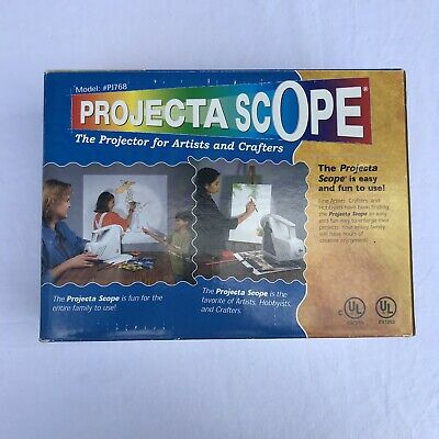 Projecta Scope Model PJ768 Art Drawing Tracing Overhead Projector Artists Crafts