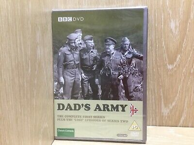 Dad's Army The Complete First Series 1 + Lost Episodes DVD New & Sealed BBC