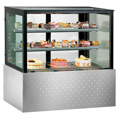 Bonvue Chilled Food Display With Two Shelf Width 900mm