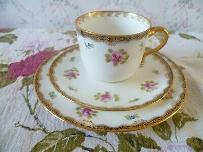 Vintage / Antique  Wedgwood English China Trio Tea Coffee Cup Saucer Plate  6975