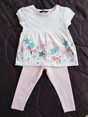 Baby Girl George Leggings and Top Outfit 2-3 Years