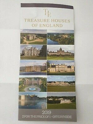 Treasure Houses of England 2 for the price of 1 vouchers (NOT LEEDS CASTLE)