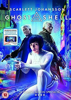 Ghost In A Shell [DVD + digital download] [2017] New Sealed