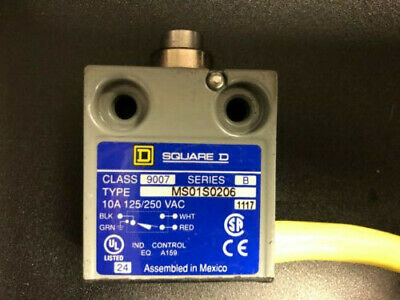 SUNS SN3242-SP-B3 Panel Roller Plunger Limit Switch 914CE29-9 9007MS08S0300