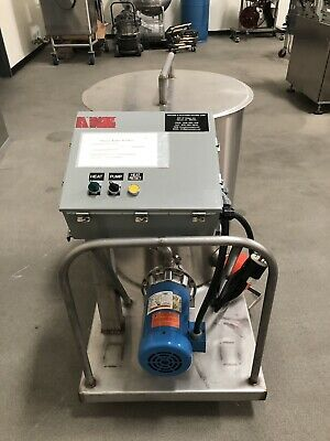 Process & Packaging Machine Portable SS CIP Press Washer w/Goulds Pump