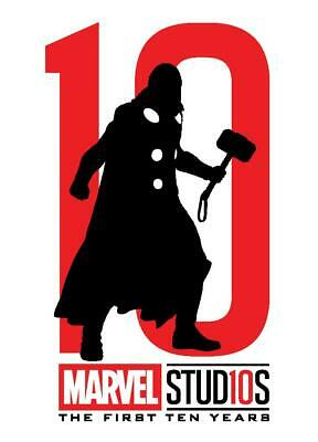Topps Marvel Collect Thor FIRST TEN YEARS DIE CUT SILHOUETTE [DIGITAL] 750cc