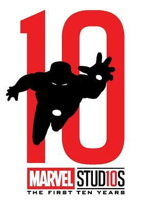 Topps Marvel Collect Iron Man FIRST TEN YEARS DIE CUT SILHOUETTE [DIGITAL] 750cc