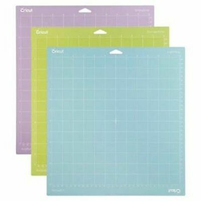 """CRICUT Tools Accessories Variety 3 Pack Adhesive Cutting Mat 12"""" x 12"""""""