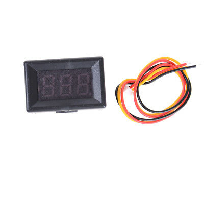 DC0-100V Mini LED Digital Voltmeter Volt Meter Gauge Voltage Panel Meter 3PBLC'