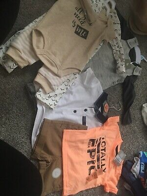 Baby Boys Clothes Bundle 3-6 Months Bnwt