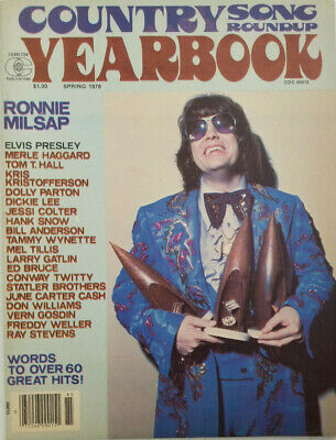 Country Song Roundup Yearbook Magazine 1978 - Ronnie Milsap - Elvis Presley