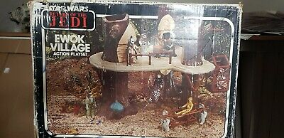 Vintage Star Wars Ewok Village Boxed And Complete