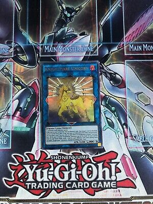 Yugioh Knightmare Unicorn MP19-EN028 Ultra Rare 1st Edition Near Mint