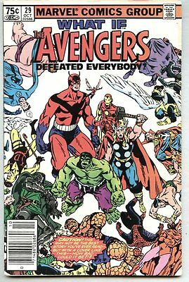What If? #29-1981 vg/fn What If Giant / Avengers / Namor