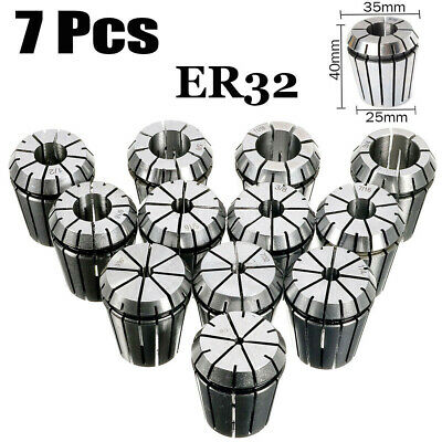 ER11 ER16 ER20 ER25 ER32 Spring Collet Sets CNC Milling Machine Lathe Tools Kit