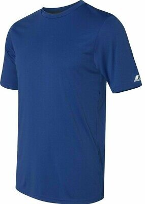Russell Athletic Men's DriFit Performance T-Shirt, Gym Tee Soccer, Sport workout