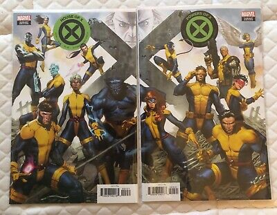 House of X # 4 , Powers of X # 4 2019 Jorge Molina Connecting Covers Marvel NM